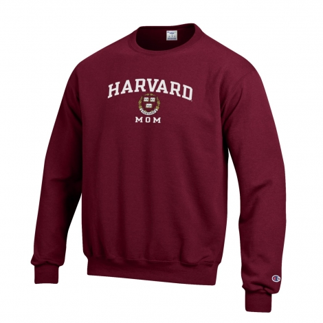 Harvard Mom Champion Crew Neck Sweatshirt