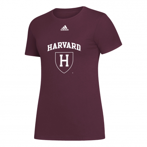 Harvard Women's Adidas Amplifier Tee Shirt