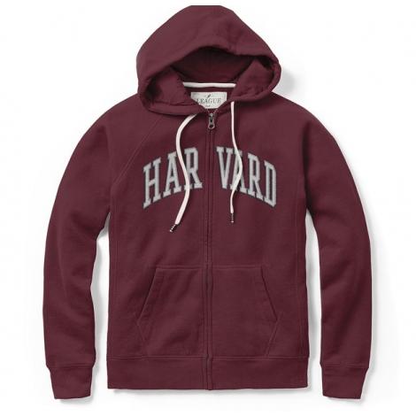 Harvard Women's Academy Full Zip Hooded Sweatshirt