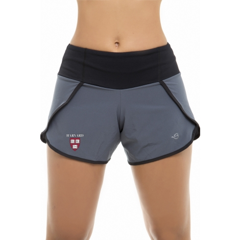 Via Prive Harvard Women's Running Shorts