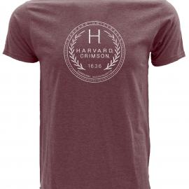 Harvard Malibu Short Sleeve Tee Shirt With Vintage Design