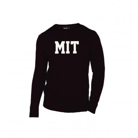 MIT Intarsia Crew Neck Sweater