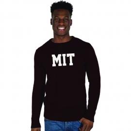 MIT Intarsia Crewneck Sweater