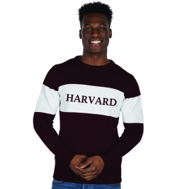 Harvard Bruzer Bar Down Crew Neck Sweater