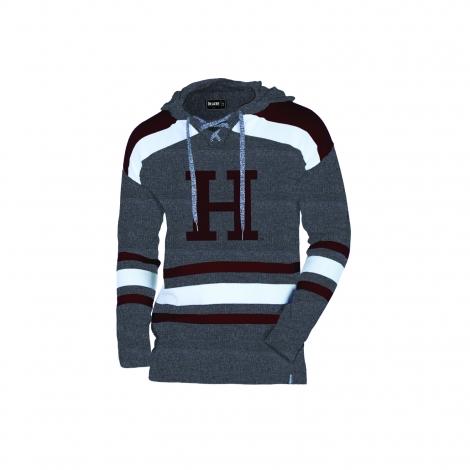 Harvard Bruzer H Hockey Hooded Sweater