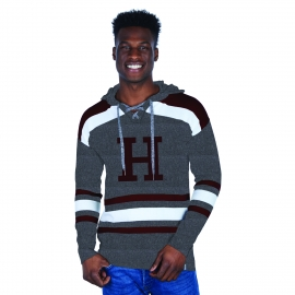 Harvard Bruzer H Hockey Hooded Sweater
