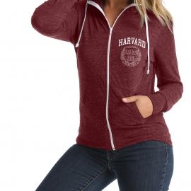 Women's Harvard Tri-blend Hoodie