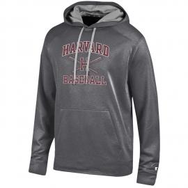 Harvard Baseball Sport Performance Champion Hooded Sweatshirt
