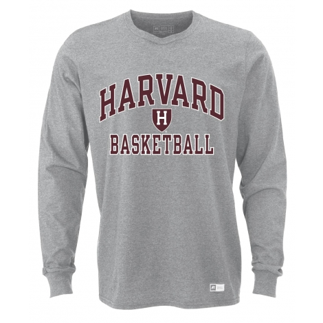 Harvard Long Sleeve Essential Basketball Tee