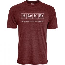 MIT Hacker Tri-Blend Tee Shirt