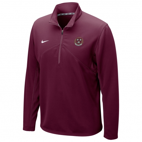 Harvard Nike Dri-Fit Training 1/2 Zip Top