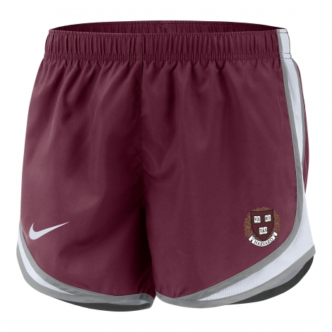 Harvard Women's Nike Team Tempo Shorts