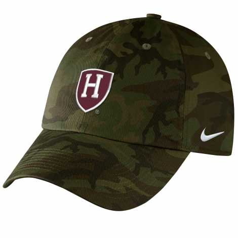Harvard Nike Camo Adjustable Hat