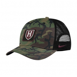 Harvard Nike Camo Trucker Hat
