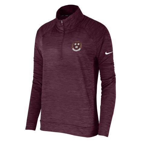 Harvard Women's Nike Pacer 1/4 Zip Pullover