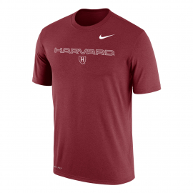 Harvard Nike Dri-Fit Team Issue Tee Shirt