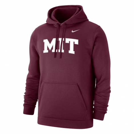 MIT Nike Club Fleece Hooded Sweatshirt