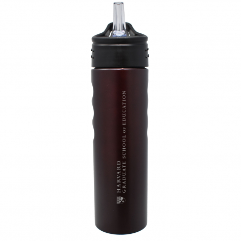 Harvard School of Education 24 oz. Grip Water Bottle