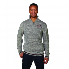 MIT Men's Worksock 1/4 Zip Sweater