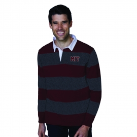 MIT Men's Striped Rugby Sweater