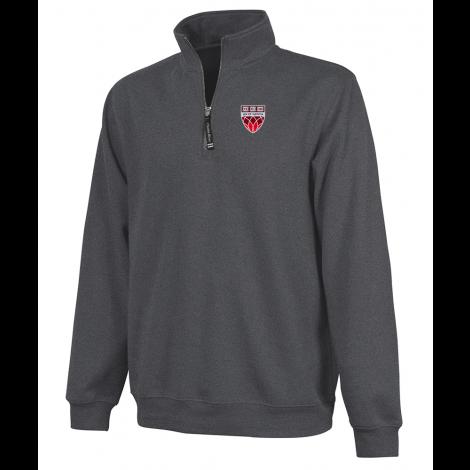 Harvard Law School Shield 1/4 Zip Crosswind Sweatshirt