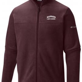 Harvard Law School Columbia Flanker Fleece Full Zip Jacket
