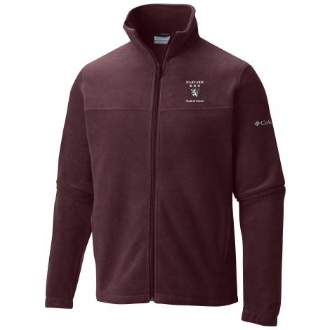 Harvard Medical School Columbia Flanker Fleece Full Zip Jacket