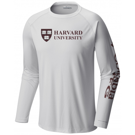 Harvard Columbia Omni-Wick Technical Long Sleeve Tee