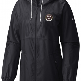 Harvard Columbia Flashback Long Windbreaker