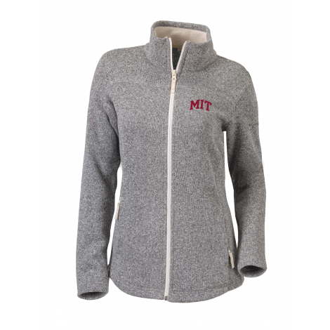 MIT Women's Columbia Canyon Point Full Zip Sweater Jacket