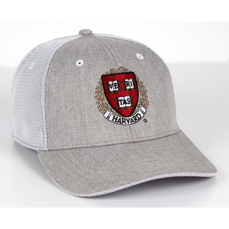 Harvard Performance Structured Mesh Overlay Back Hat
