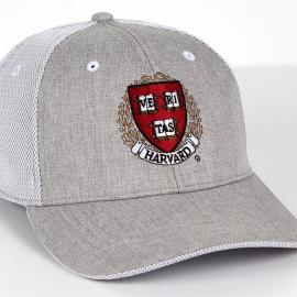 Harvard Performance Structured Mesh Overlay Back Hat