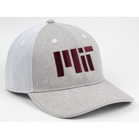 MIT Performance Structured Mesh Overlay Back Hat