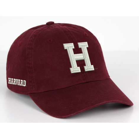 Harvard Quad Unstructured Washed Twill Hat