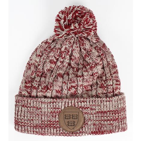 Harvard Chunky Aspen Winter Knit With Pom