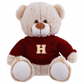 "Harvard 10"" Elliot Stuffed Teddy Bear with Sweater"