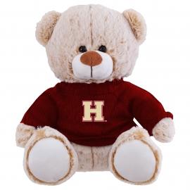 Harvard Landon the Bear with Sweater