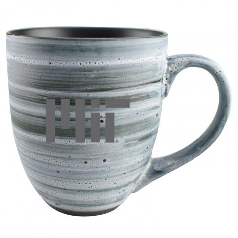 MIT Grey Swirl Laser Engraved Mug