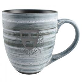 Harvard Grey Swirl Laser Engraved Mug