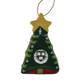 Harvard 3D Christmas Tree Ornament