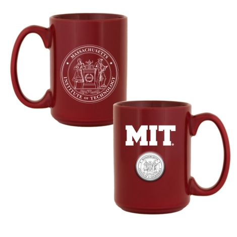 MIT Medallion Ceramic Mug