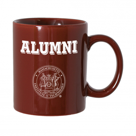 MIT Alumni Maroon Mug