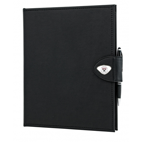 Harvard Business School Classic Padfolio with Custom Medallions