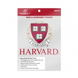 Harvard Seal Tech Sticker