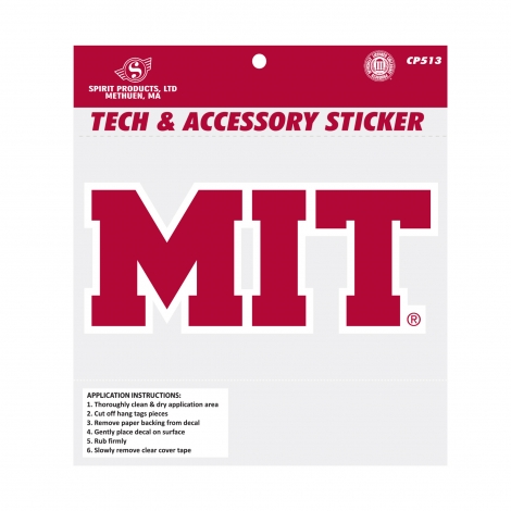 MIT Tech Sticker