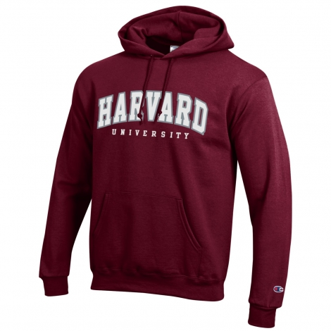 Harvard Applique Hooded Sweatshirt