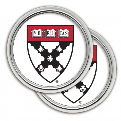 Harvard Business School 2 Pack Set of Coasters