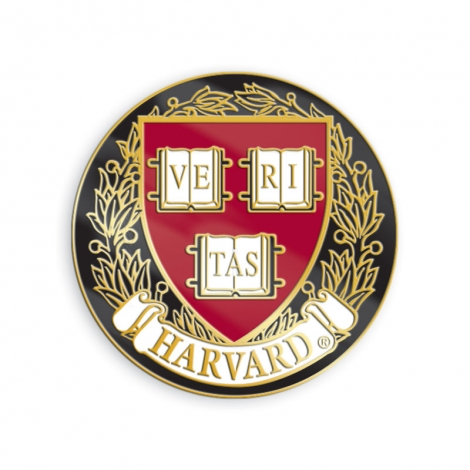 Harvard Veritas Lapel Pin