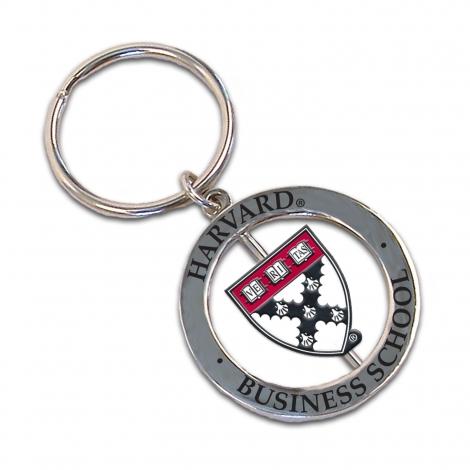 Harvard Business Spinner Keytag