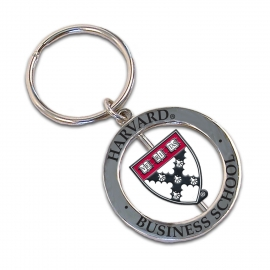 Harvard Business Spinner Keytag